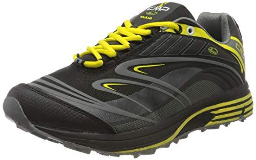 CMP – F.lli Campagnolo Maia Shoes, Scarpe da Trail Running Uomo, Nero Nero U901, 43 EU