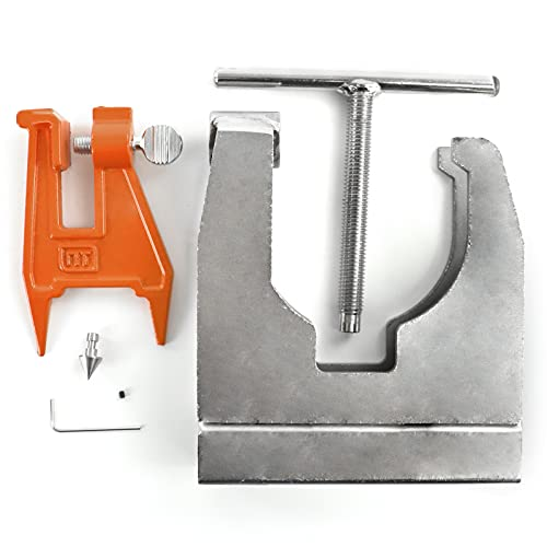 NEO-TEC Chainsaw Crankcase Splitter fit for Stihl MS660 MS381 MS441 MS260 Husqvarna Chainsaw Stump Sharpening Filing Vice Saw Chain Sharpening Filing Tool Bar Clamp OEM 502 51 61 01 Oregon 26368A
