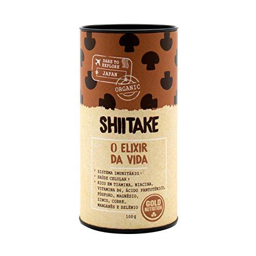 Gold Nutrition Shiitake Superalimentos Polvo 100Gr. 1 Unidad 100 g