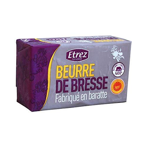 発酵バター無塩ブレス産AOPバターEtrez食塩不使用250gエトレフランス