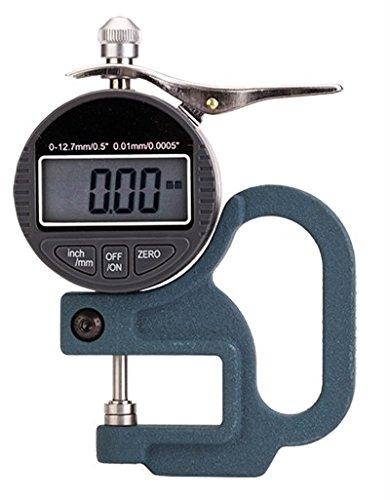 BAOSHISHAN 0,01/0,001 mm medidor de grosor de aluminio medidor de grosor de micrómetro digital para papel, película, tela, cinta