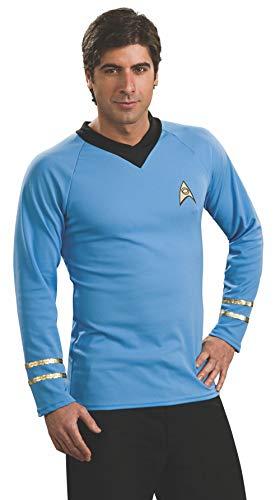 Rubie's Classic Star Trek Deluxe Spock Adult Costume Shirt, Large