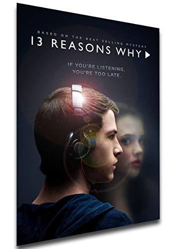 Instabuy Poster - TV Series - Playbill - 13 Reason Why Manifesto 70x50