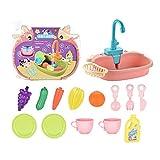 Kinderküche Spielzeug Simulation Elektrische Spülmaschine Pretend Play Mini Küche Pädagogisches Sommerspielzeug Rollenspiel Spielzeug