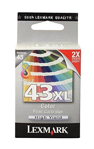 Lexmark 18Y0143cartucho de tinta–Cartucho de tinta para impresoras Lexmark P350Lexmark X9350Lexmark X4850Lexmark X6570Lexmark X9575Lexmark X6575Lexmark X4875, Inyección de tinta)