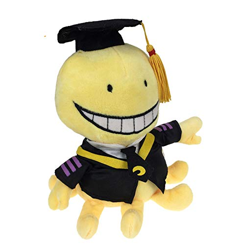 zcm Bambola di Peluche Cute Koro Sensei Teacher Plush Soft