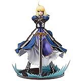 Byrhgood Modelo de Estatua de Anime Caballero Rey Animación Modelo,...