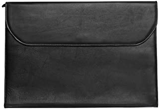 Legal Size Leather Portfolio.When a Briefcase is Too Much (Black)