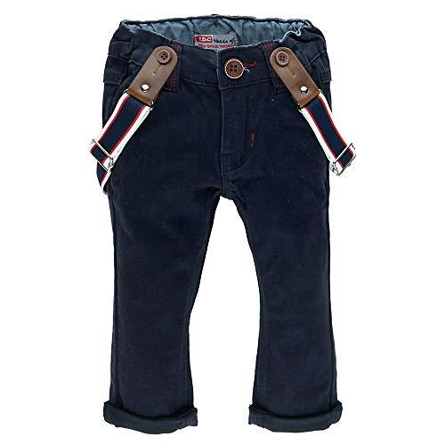 Feetje Classic Pantalon avec Bretelles pour Pantalon - Marine, 80