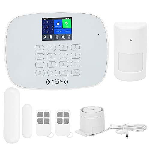 FILFEEL Sistema de Alarma de Seguridad para el hogar, Alarma antirrobo Inteligente teledirigida de la APLICACIÓN de WiFi gsm GPRS(YO)