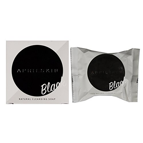 [APRIL SKIN] Signature Soap Black 100g / Cleansing Soap