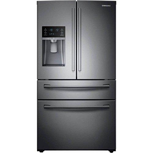 Samsung RF28HMEDBSG 28 Cu. Ft. Black Stainless 4-Door French Door Refrigerator RF28HMEDBSG/AA