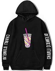 Charli D'Amelio iskaffee sfat huvtröja män/kvinnor ledig internet Promi hoodies kläder