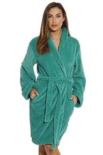6312-Emerald-M Just Love Kimono Robe / Bath Robes for Women