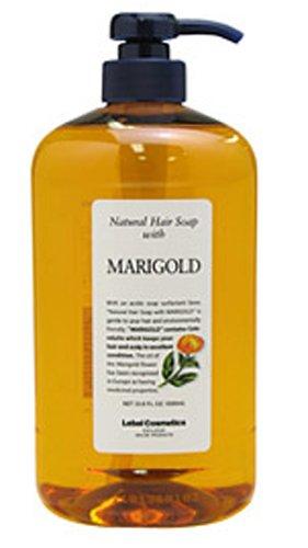 Takara Belmont Lebel | Shampoo | Natural Hair Soap with Marigold 1000ml (Japan Import)