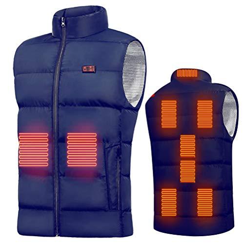 ARTOCT - Chaleco calefactor con USB para exteriores, senderismo, moto, caza, camping, esquí, senderismo