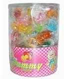 Dauerlutscher am Stiel 'Schnuller' 60 Stück Lollipops (1 x 780g)