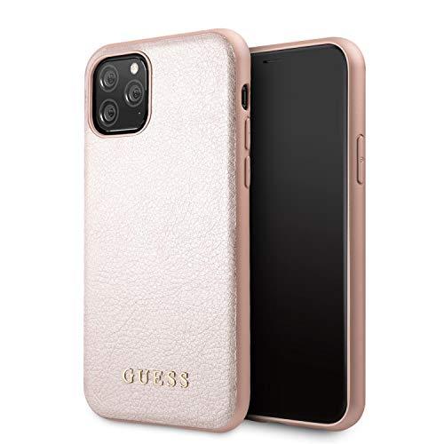 Apple iPhone 11 Pro Max Rose Gold Guess Backcover hoesje Iridescent - Original - GUHCN65IGLRG