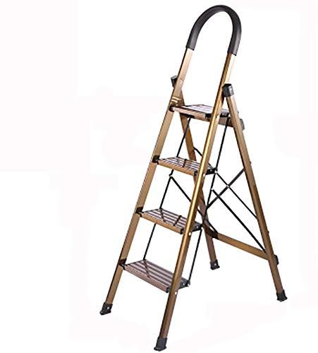Multifunctionele ladder Huishoudapparaten Ladders, Safety verloopt in vier stappen ladder Ultra Light Aluminium Ladder Bioscopen/winkelcentra Trappen Huishoudelijke ladder Ladder huis vouwen