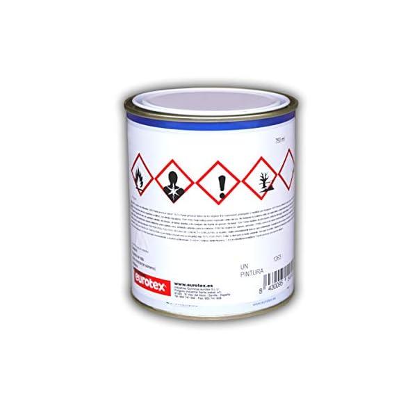 Pintura Mate Anticalorica 650º | Especial Chimeneas, Hornos y Estufas – Negro, 750 ml