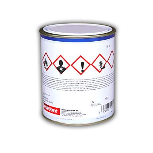Pintura Mate Anticalorica 650º | Especial Chimeneas, Hornos y Estufas - Negro, 750 ml