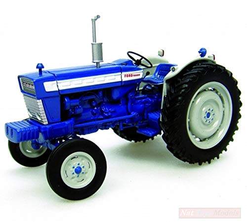 Universal Hobbies UH2808 TRATTORE Ford 5000 1:32 MODELLINO Die Cast Model Compatible con