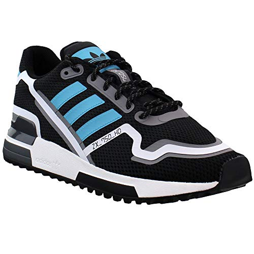 adidas Mens Zx 750 Hd Lace Up Sneakers Shoes Casual - Black - Size 10 D
