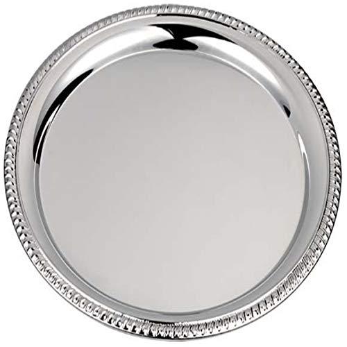 Silberkanne - Sottopiatto con bordo a cordoncino, 31 cm, argento placcato argento, lavorazione premium
