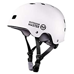 ASTM & CPSC CERTIFIED SAFETY - Built for both comfort and impact resistance with REINFORCED ABS SHELL & THICKENED SHOCK-ABSORBING EPS CORE. EXTRA REMOVABLE LINING - Skateboard helmet with two removable liner for different head sizes and easy to wash ...