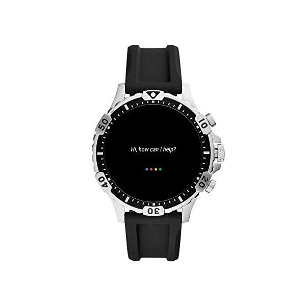 Fossil Connected Smartwatch Gen 5 para Hombre con pantalla táctil , altavoz, frecuencia cardíaca, GPS, NFC y… 3