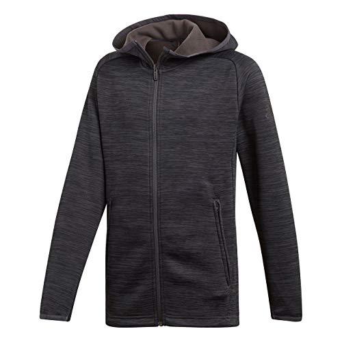 Adidas Training Fleece Closed Hem Hooded Jas met capuchon voor jongens