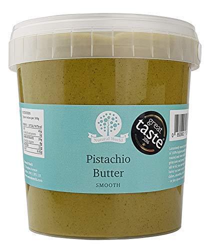 Nutural World - Beurre de Pistache onctueux (1kg) Vainqueur des Great Taste Awards