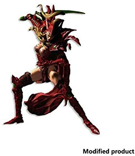 YYZZ World of Series 1 Valeera Sanguinar Blood Elf Rogue Figura de acción - Unlimited World of Figure - Figura Alta 7 8 Pulgadas