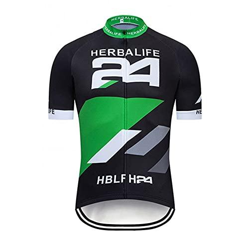 Herren Radtrikot Fahrrad Kurzarm Trikot Schnelltrocknend Atmungsaktives Shirt MTB