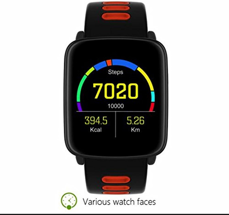 Newest Sport Smartwatch,Herzfrequenzmesser,Schrittzhler,Schlafmonitor,Sitzender Hinweis,Kalender,Wecker,Anti-verloren,Blautooth Anruf,Anruf-Benachrichtigung Push unterstützt Android und iOS System