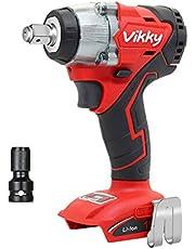 Vikky充電式インパクトレンチ18Vブラシレスコードレス4速最大トルク350N・m自動停止正転/逆転