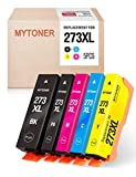 MYTONER Remanufactured Ink Cartridge Replacement for Epson 273XL 273 XL Ink for Expression XP-600 XP-810 XP-820 XP-520 XP-610 XP-620 XP-800 Printer (Black Cyan Magenta Yellow Photo Black,5-Pack)