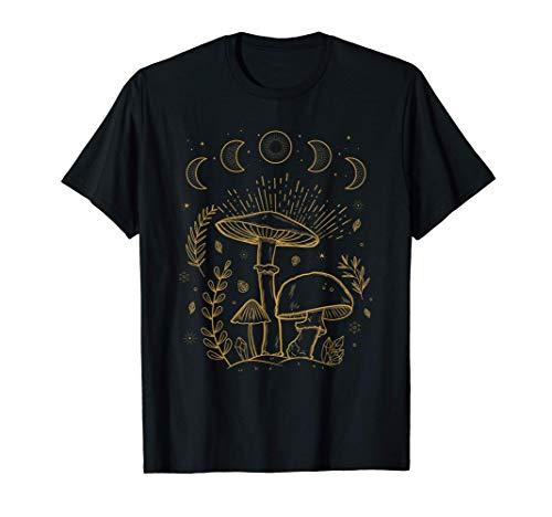 Goblincore Aesthetic Dark Academia Cottagecore Pilz T-Shirt