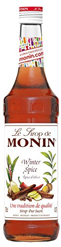 Monin Sirup Winter Spice I Weinachtsedition Ideal für Glühwein mit Zimt Nelken Piment 0,7l (Winter Spice)