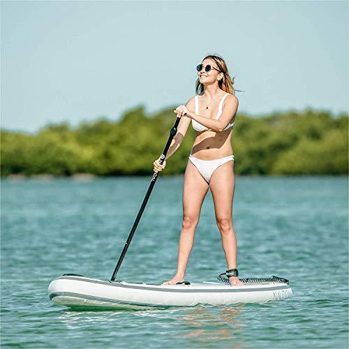 "iROCKER Nautical Inflatable Paddle Board (Blue, 10'6"")"