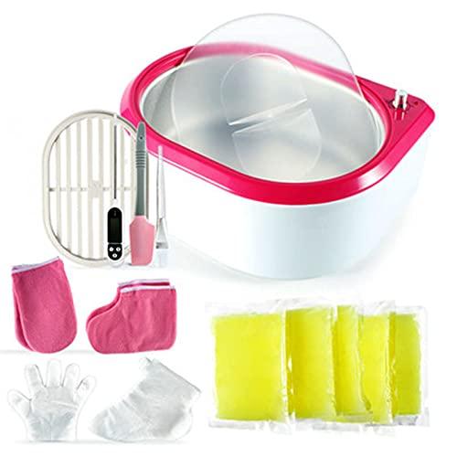 RYKJ-F Salon Wax Warmer Machine Kit, Calentador eléctrico Calentador de ollas para...