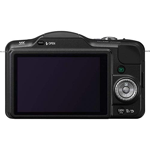 BABIFIS gebruikt, Lumix DMC-GF3 12 MP Micro 4/3 Mirrorless digitale camera met 3-inch Touch-Screen LCD-behuizing alleen (zwart)