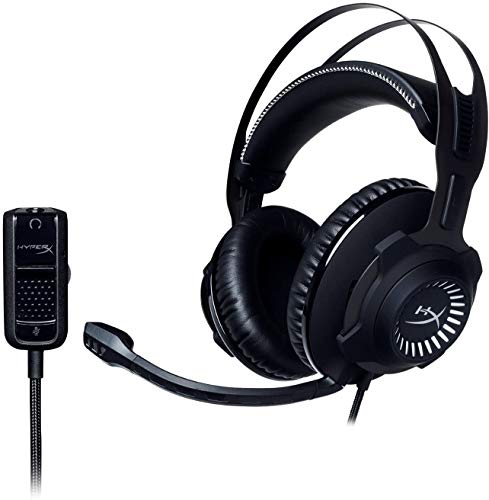 HyperX Cloud Revolver Wired Stereo Gaming Headset for PC, PS 4, Xbox One, Nintendo Wii U - Gun Metal (Renewed)
