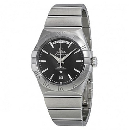Omega Constellation Day Date Automatic Black...