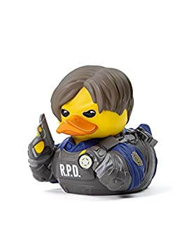 TUBBZ Resident Evil Leon S Kennedy Collectible Rubber Duck Figurine – Official Resident Evil Merchandise – Unique Limited Edition Collectors Vinyl Gift