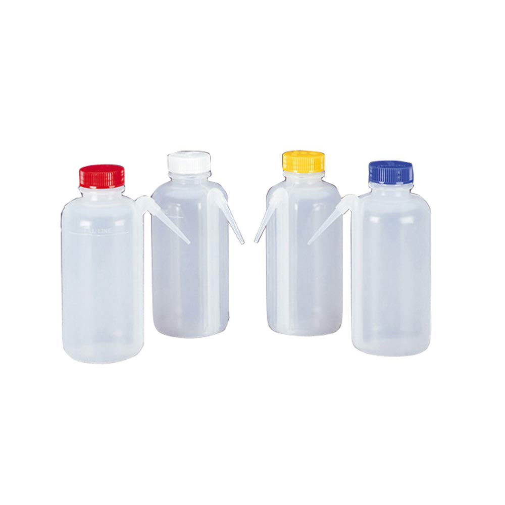 Nalgene 2423-0500 LDPE New color Color-Coded Unitary Bottle 70% OFF Outlet Ca Wash 500mL