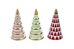 Retro Christmas tree figurines