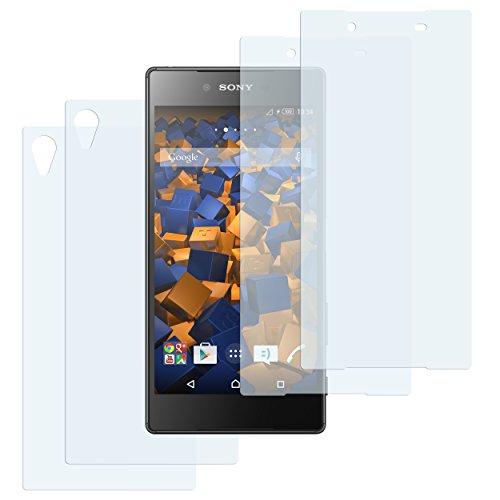 mumbi Schutzfolie kompatibel mit Sony Xperia Z5 Premium Folie klar, Bildschirmschutzfolie (4X)