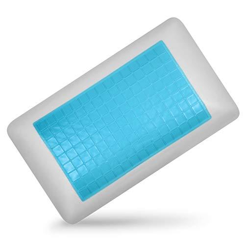 Neblus Almohada de Memory Foam con Gel frío Ortopedico Cooling Refrescan