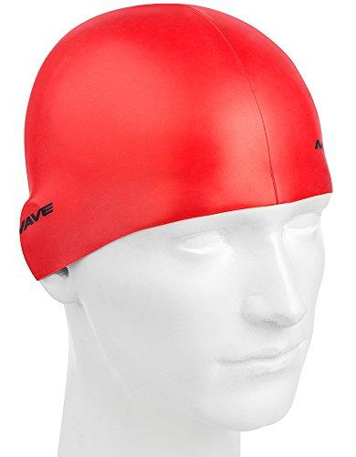 Versace Metall Silikon Cap, Rot, Einheitsgröße